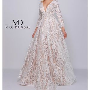 Gorgeous Mac Duggal Pageant Gown